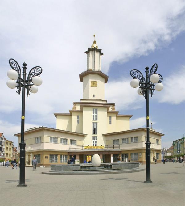Въезд в центр Ивано-Франковска будет платным