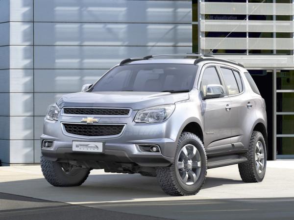 Chevrolet Trailblazer: второе поколение