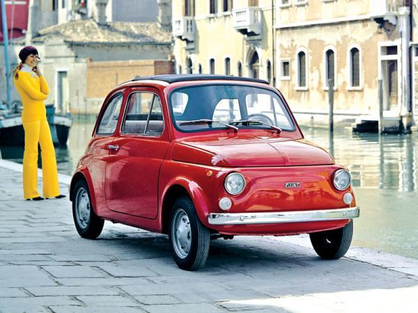 """Fiat 500: итальянский """"малыш"""""""