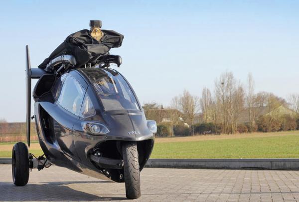 Летучий голландец: автомобиль, умеющий летать