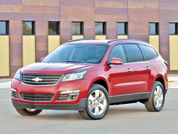 Chevrolet Traverse: омоложение