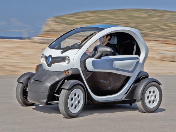 Renault Twizzy: альтернатива скутеру