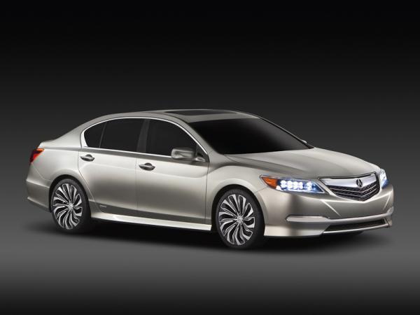 Acura RLX: предвестник нового седана