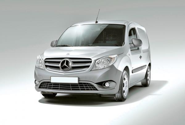 Модельный ряд Mercedes-Benz пополнится новым фургоном