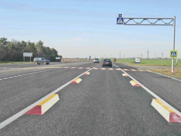 На украинских дорогах появилась новая разметка – 3D