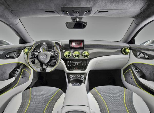 Mercedes-Benz Concept Style Coupe: предвестник четырехдверного купе