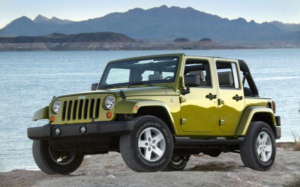 Chrysler отзывает Jeep Wrangler