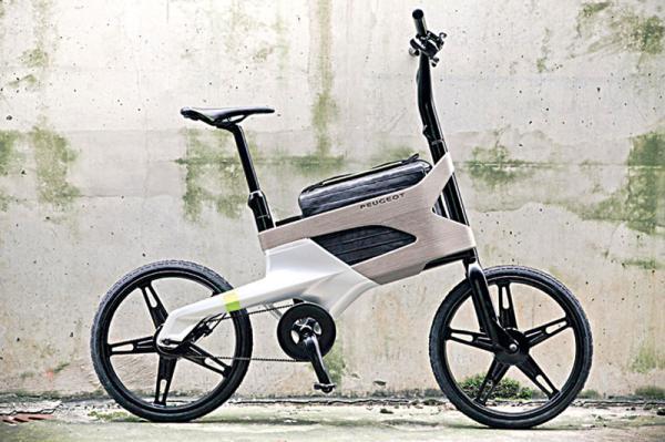Peugeot выпустит велосипед для деловых людей
