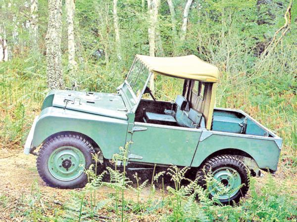 Land Rover: вседорожный трудяга