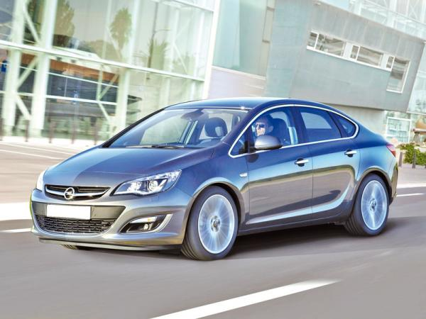 Opel Astra: обновление