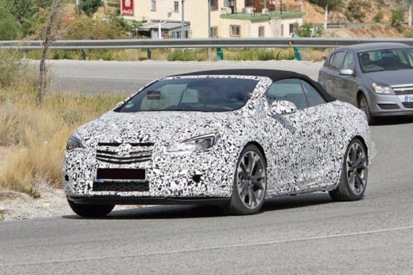 Opel Astra теперь и в кузове кабриолет