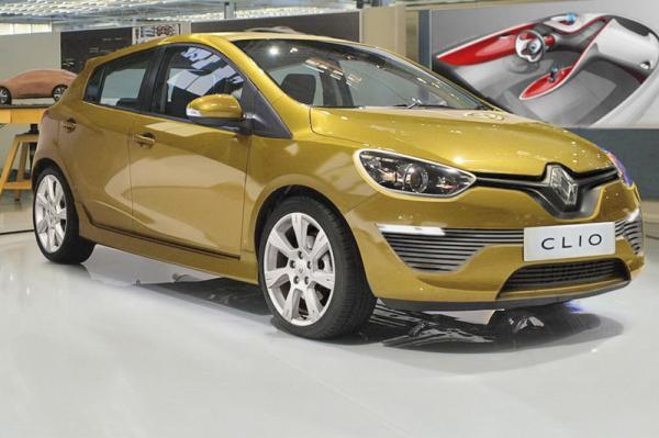 Замечен новый Renault Clio, проходивший тестирование