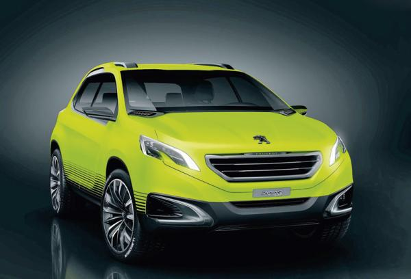 Peugeot 2008 Concept: предвестник нового вседорожника