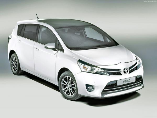 Toyota Verso: модернизация