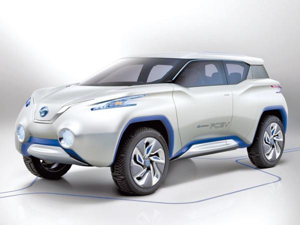 Nissan TeRRa: вседорожный электромобиль