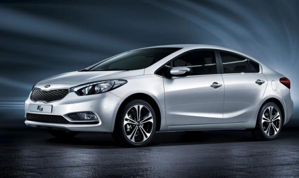 Kia представила новый седан Cerato