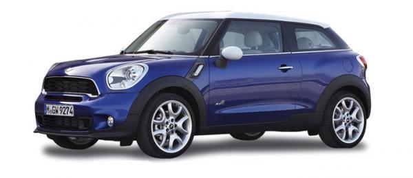Mini Paceman: вседорожное купе
