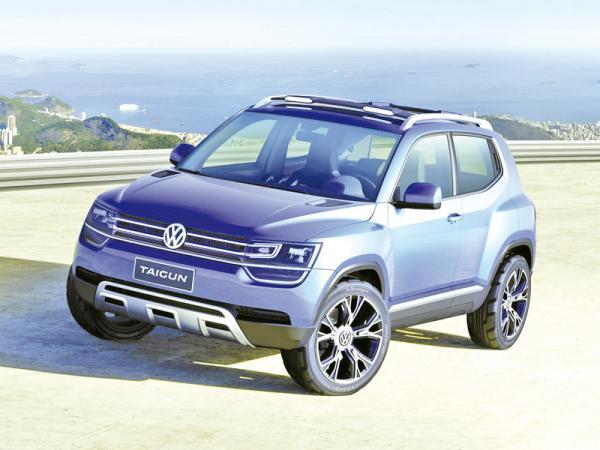 Volkswagen Taigun: младший брат Tiguan