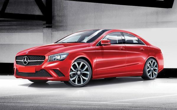 Mercedes-Benz  показал снимки новой модели