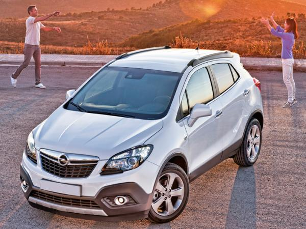 Opel Mokka: ставка на компактность