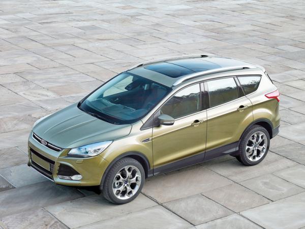 Краш-тест: Ford Kuga