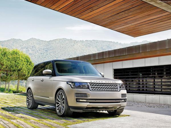 Краш-тест: Range Rover