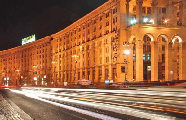 На Новый год на центральных улицах Киева перекроют движение