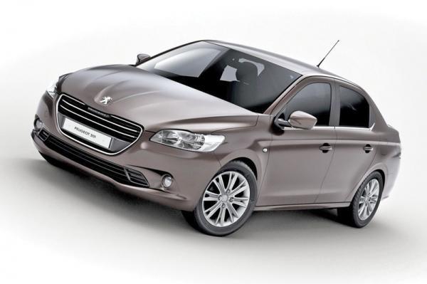В Украине стартуют продажи Peugeot 301