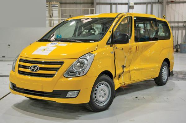 Краш-тест: Hyundai H-1