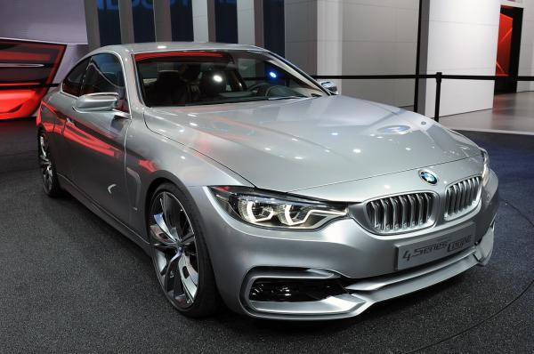 BMW представила купе четвертой серии