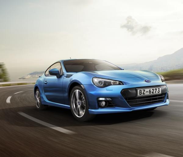 Стали известны сроки поставки спортивного купе Subaru BRZ в Украину
