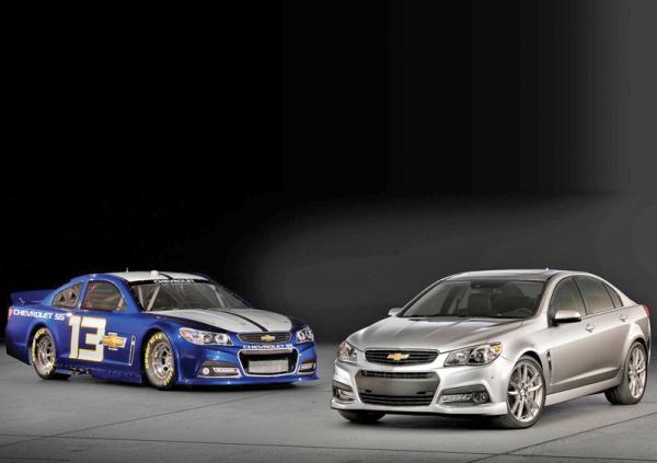 Chevrolet SS: спортивный седан по-американски