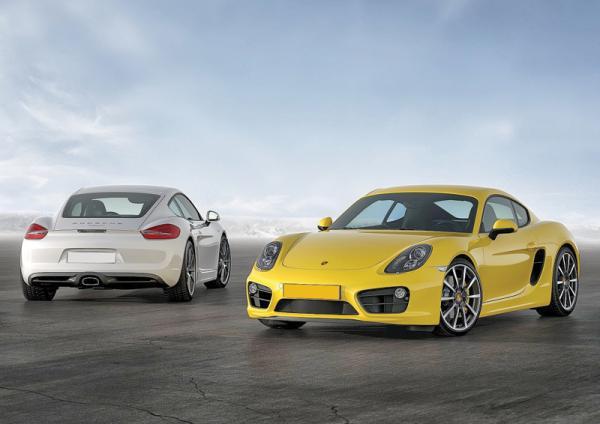 Porsche Cayman: практичное спорткупе