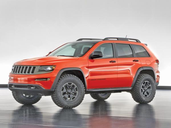 Вседорожные концепты от Jeep