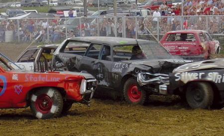 Demolition Derby: искусство разрушать