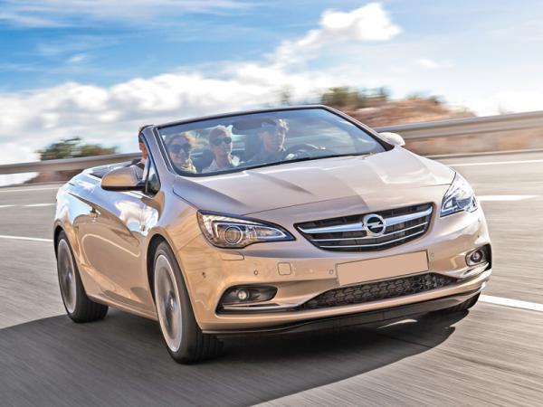 Opel Cascada: кабриолет к весне