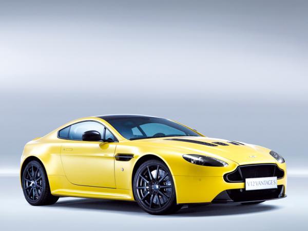 Aston Martin V12 Vantage S: юбилейное купе