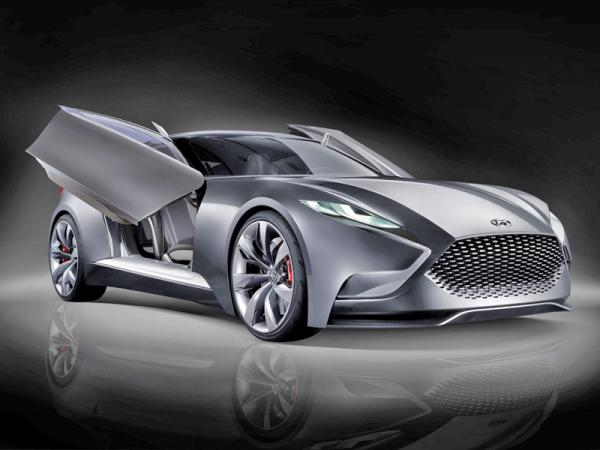 Hyundai HND-9: предвестник нового Genesis Coupe