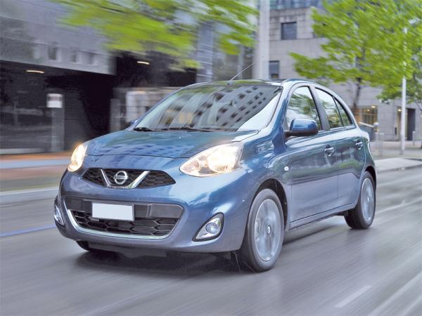 Nissan Micra: модернизация