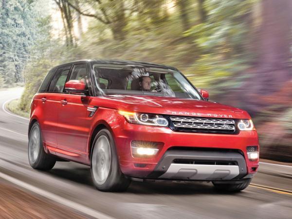 Range Rover Sport: бездорожье для спорта не помеха