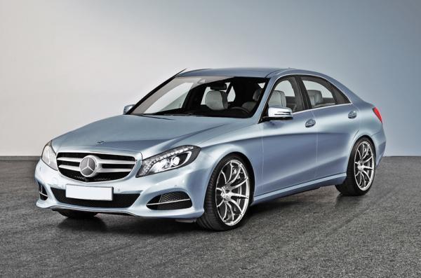 Замечен новый Mercedes Benz C-Class