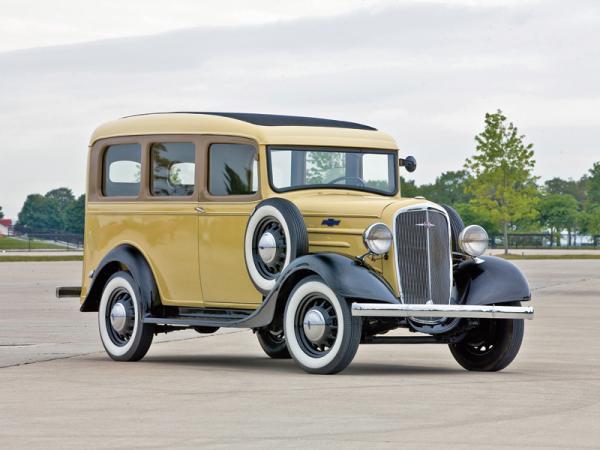 Chevrolet Suburban: предвестник вседорожников и мини-вэнов