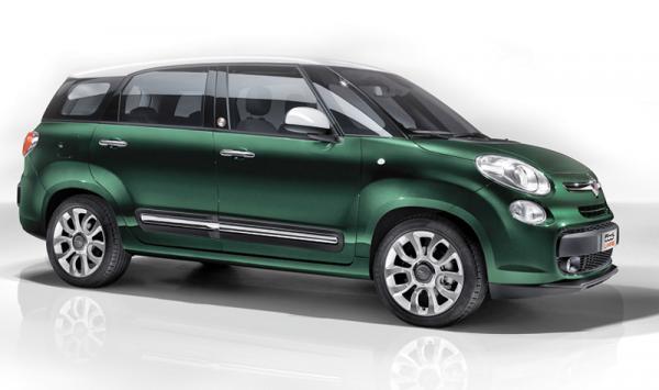 Fiat 500L Living: компактный, но вместительный