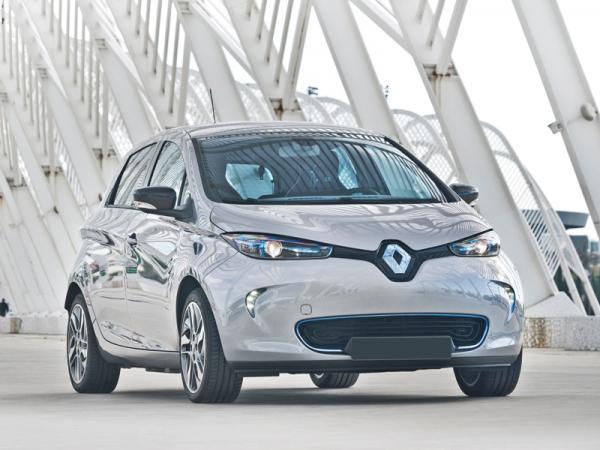 Renault Zoe: доступный электромобиль