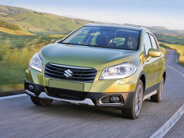 """Suzuki SX4 S-Cross: расширение """"семейства"""""""
