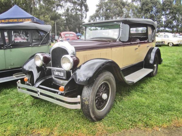 Первый Chrysler Imperial 1926 года
