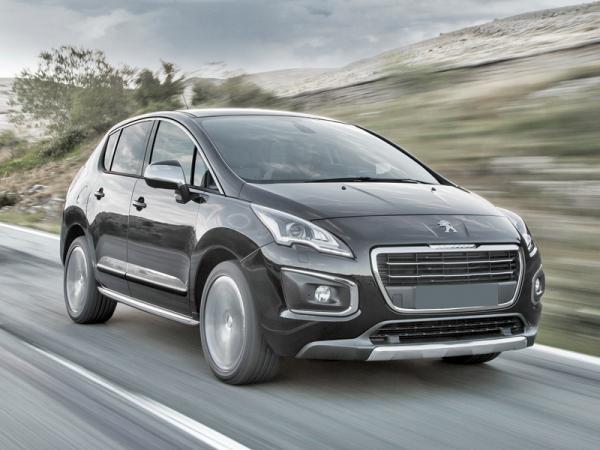 Peugeot 3008: легкое обновление