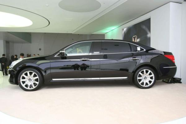 Hyundai начал производство лимузина Equus