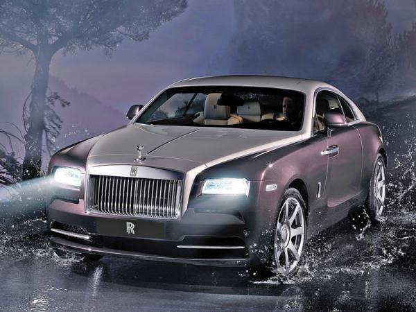 Rolls-Royce Wraith: быстрый и комфортабельный