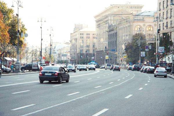 Въезд в центр Киева хотят сделать платным